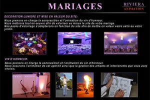 Brochure Mariages